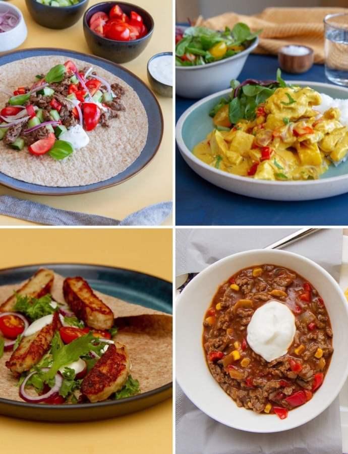 Middagstips – 10 raske og sunne middager