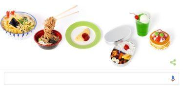 Googleトップページのロゴが食品サンプルに!岩崎瀧三とは?