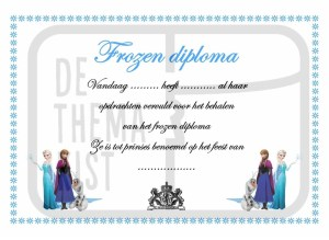Frozen Diploma