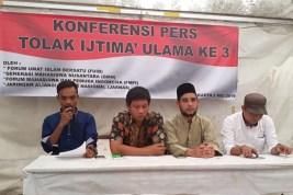 Demi Persatuan Indonesia, Sejumlah Ormas Tolak Ijtima Ulama Ketiga