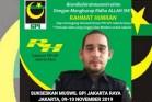 Rahmat Himran Calon Ketua PW GPI Jakarta Raya: GPII Itu Organisasi Terlarang