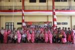 Kapolres Jakpus Pimpin Upacara Korp Raport Kenaikan Pangkat Anggota