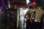 Minibus Alami Kecelakaan Tunggal, Dua Orang Meninggal Dunia