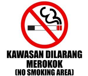 Gambar Dilarang Merokok Bahasa Sunda