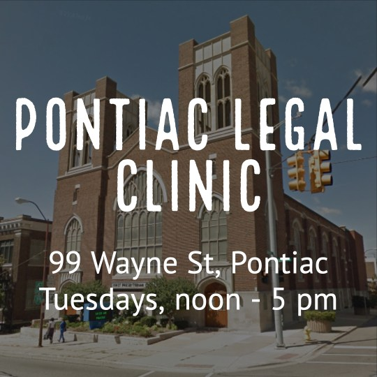 Pontiac Legal Clinic