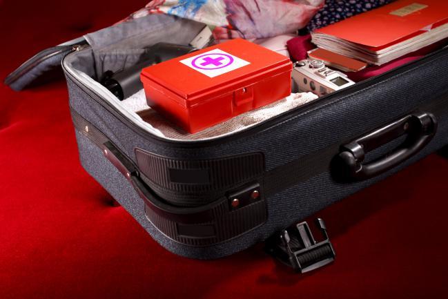 maleta con medicamentos