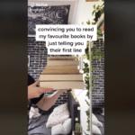 Cómo encontrar libros para leer en BookTok