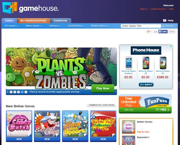 game house - juegos online gratis