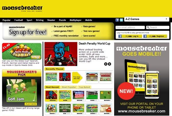 mousebreaker - juegos gratis online