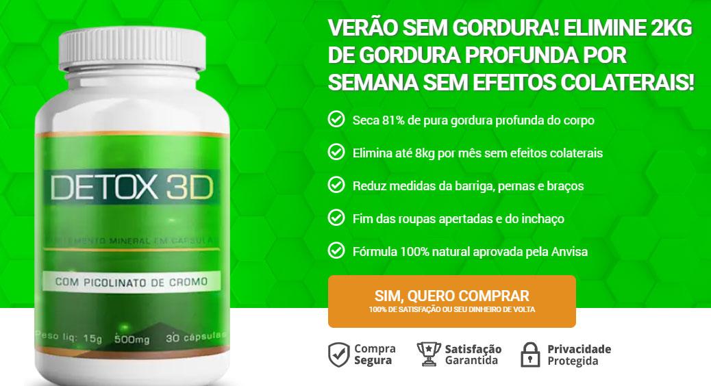 detox 3d como usar