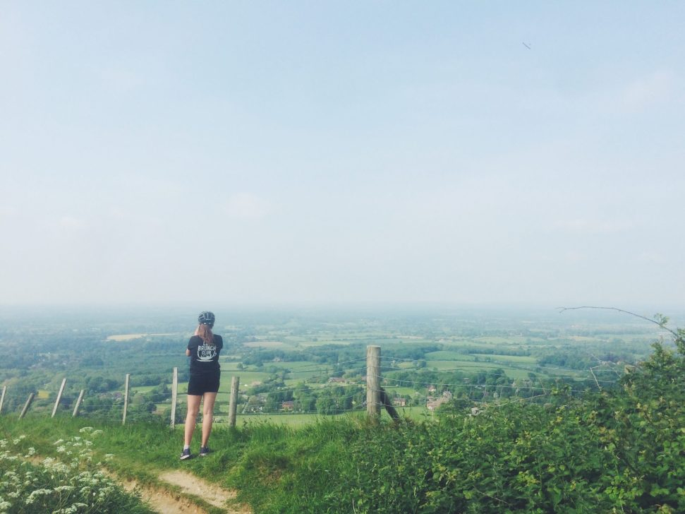 Grace on Ditchling Beacon