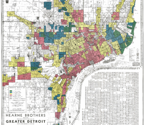 detroit redlining map