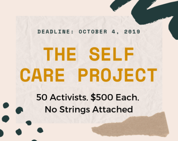 Self Care Project flyer