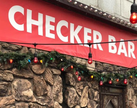 Checker Bar exterior in Detroit.