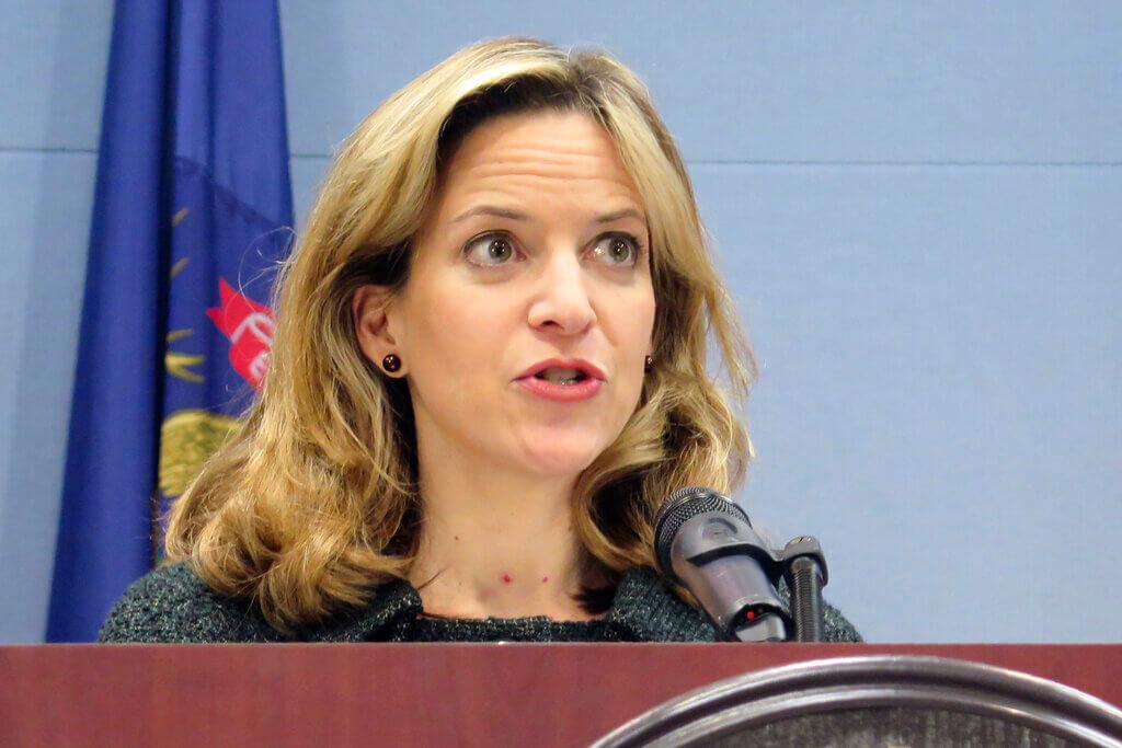 Jocelyn Benson, Michigan Secretary of State