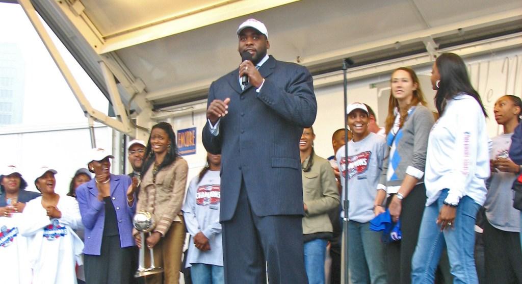 former detroit mayor kwame kilpatrick shown speaking in 2006.