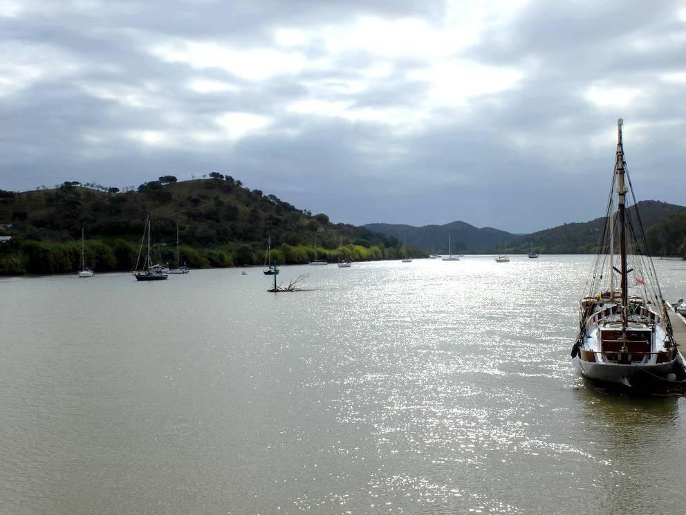 Alcoutim Guadiana river