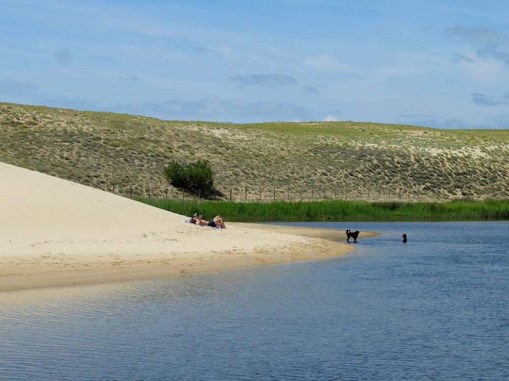 courant d'huchet petite plage