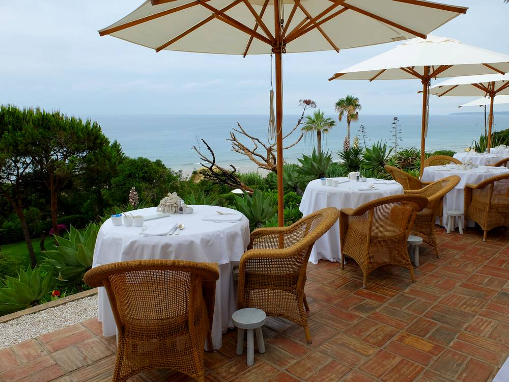 vila joya hotel terrace