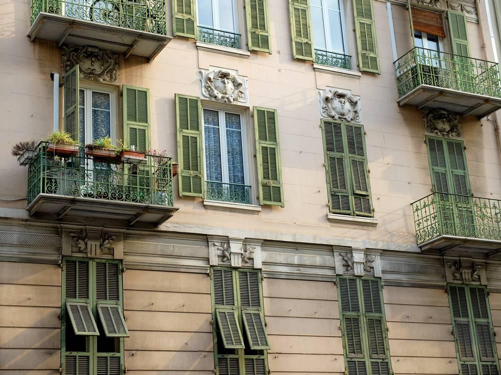 nice balcon architecture