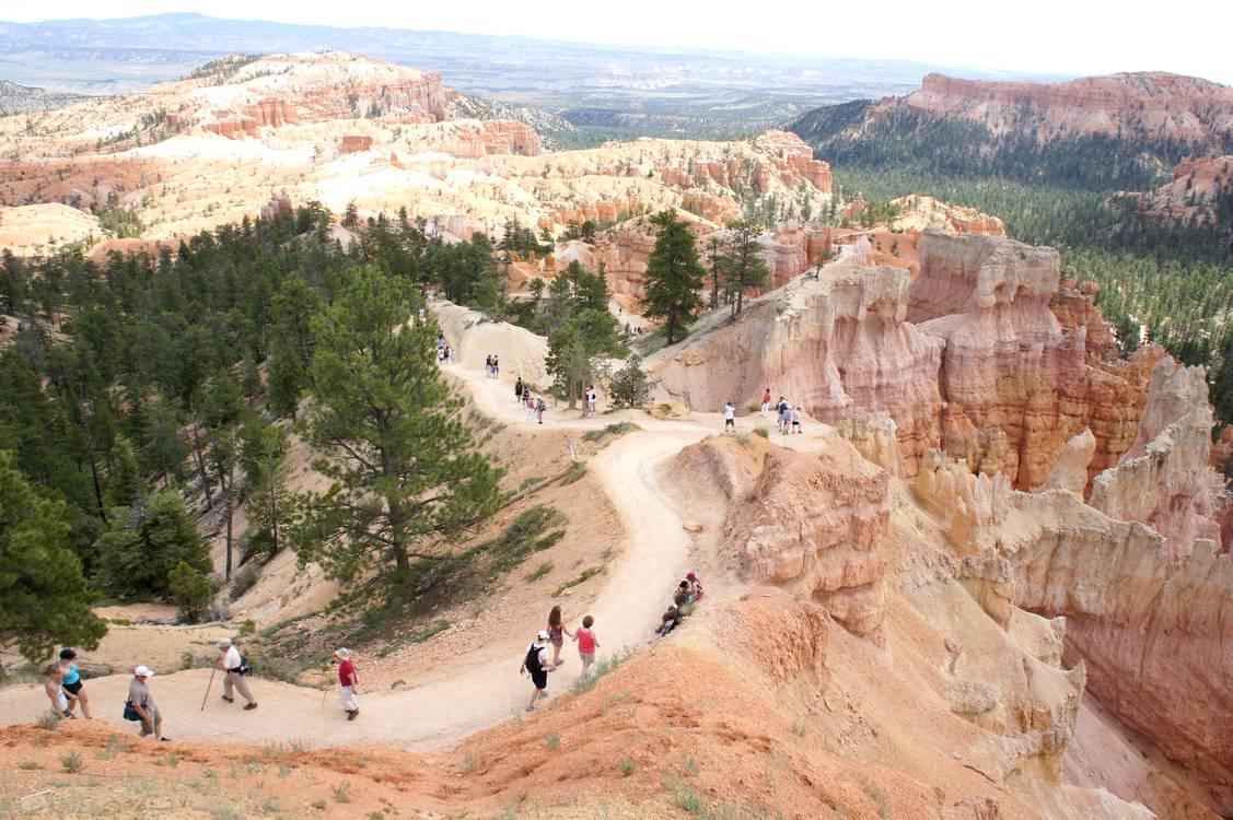 bryce canyon visitors