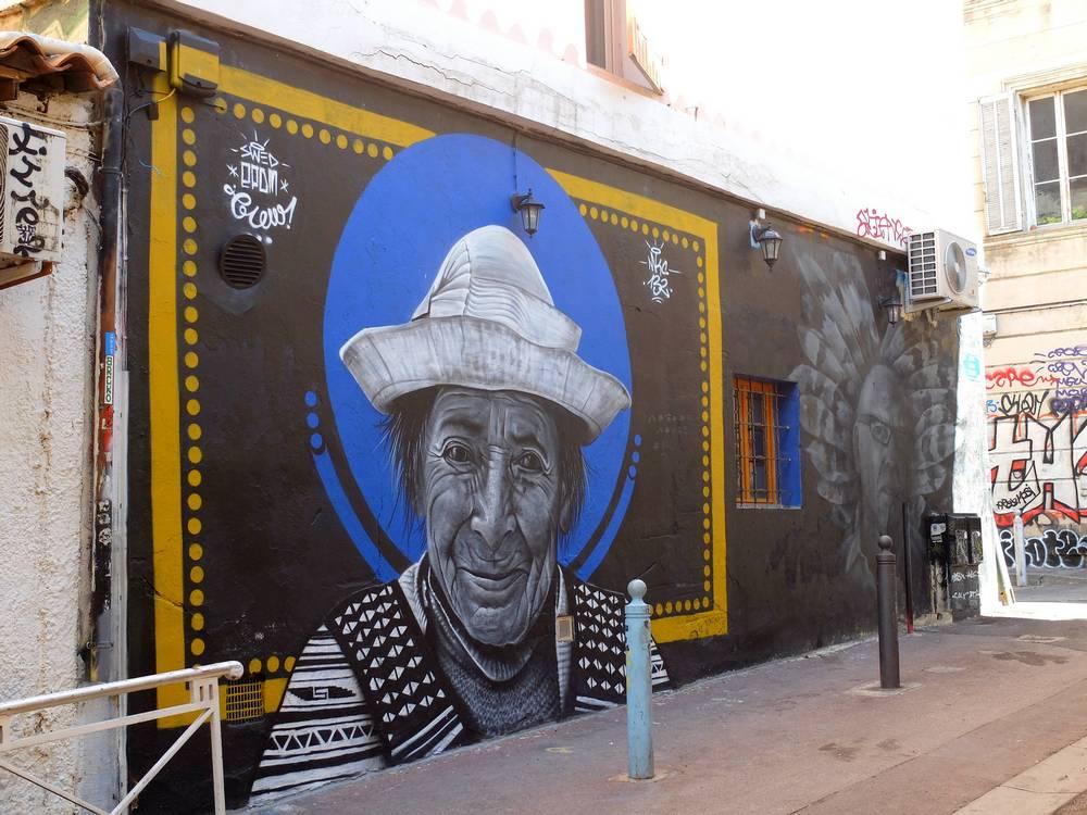 marseille street art cours julien