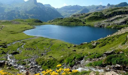 lac roumassot pyrénées