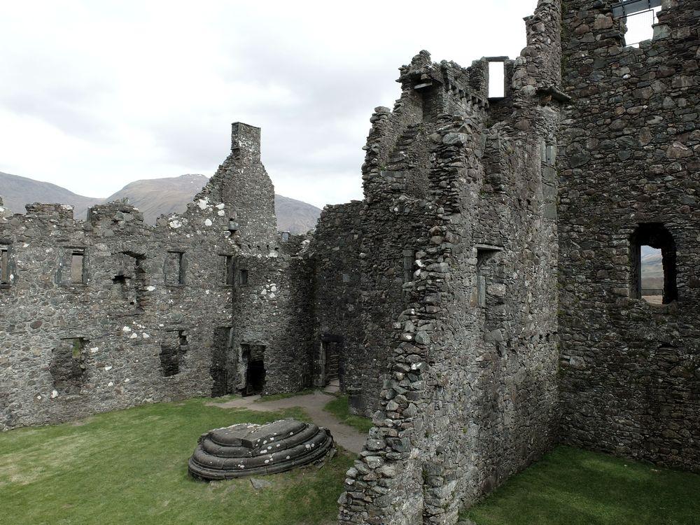 kilchurn castle ruines