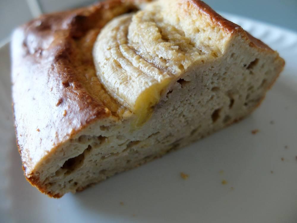 banana bread léger