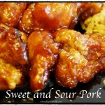 Baked Sweet and Sour Pork