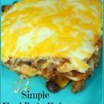 Simple Enchilada Bake