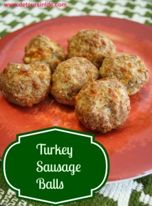 Turkey Sausage Balls