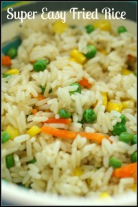 Super Easy Fried Rice - Detours in Life