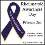 Rheumatoid Disease Awareness Day – February 2
