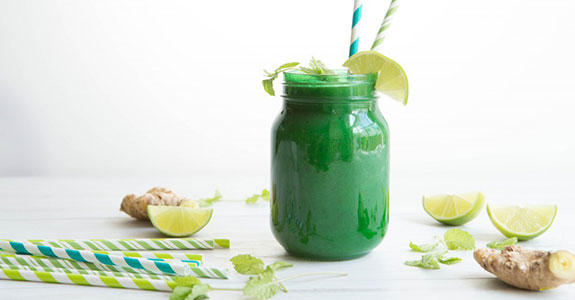 Ginger-Mint Detox Smoothie