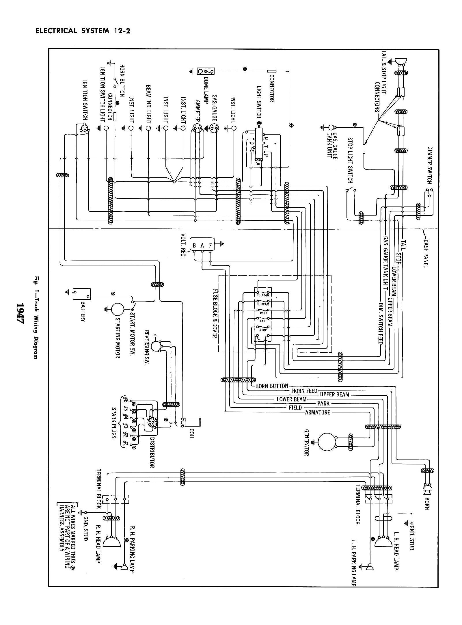 hight resolution of 1953 chevy truck wiring diagram chevy wiring diagrams