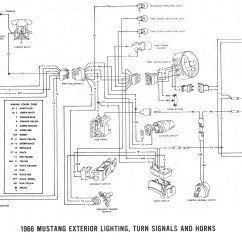 1965 Mustang Headlight Wiring Diagram Lewis Dot For Hbr Ford Turn Signal Schematic 65 5 Gauge Cluster Library1967 F100 Switch