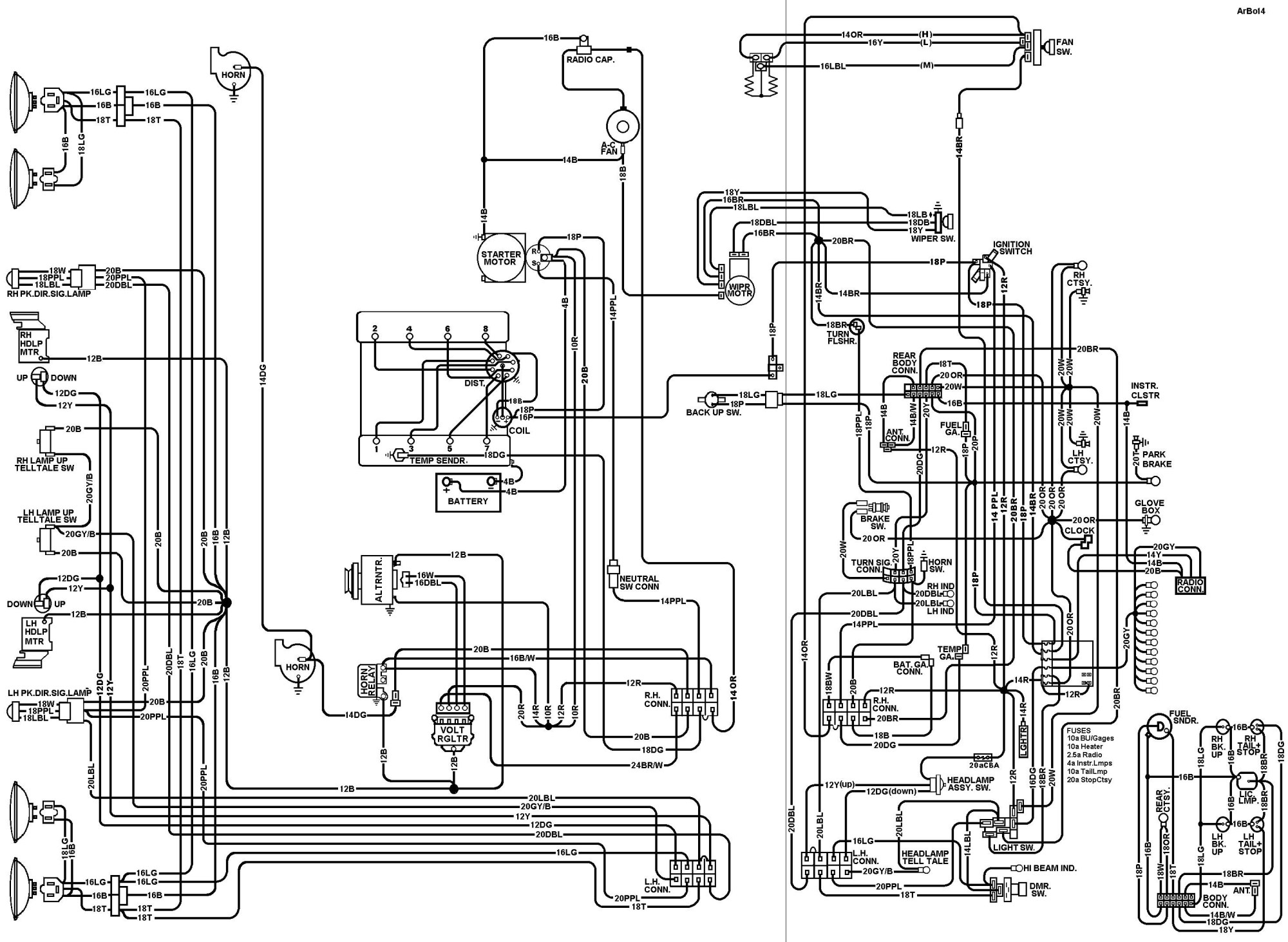 66 Corvette Wiring Schematic - 1972 ford wiring diagram wiring ... on
