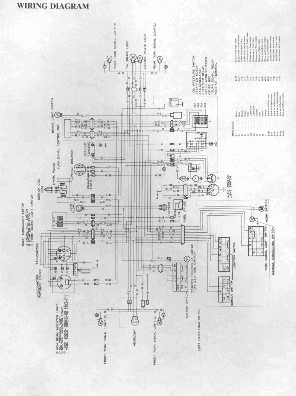 medium resolution of 1982 suzuki gs850 wiring diagram bikecliff s website of 1982 suzuki gs850 wiring diagram 1980 suzuki