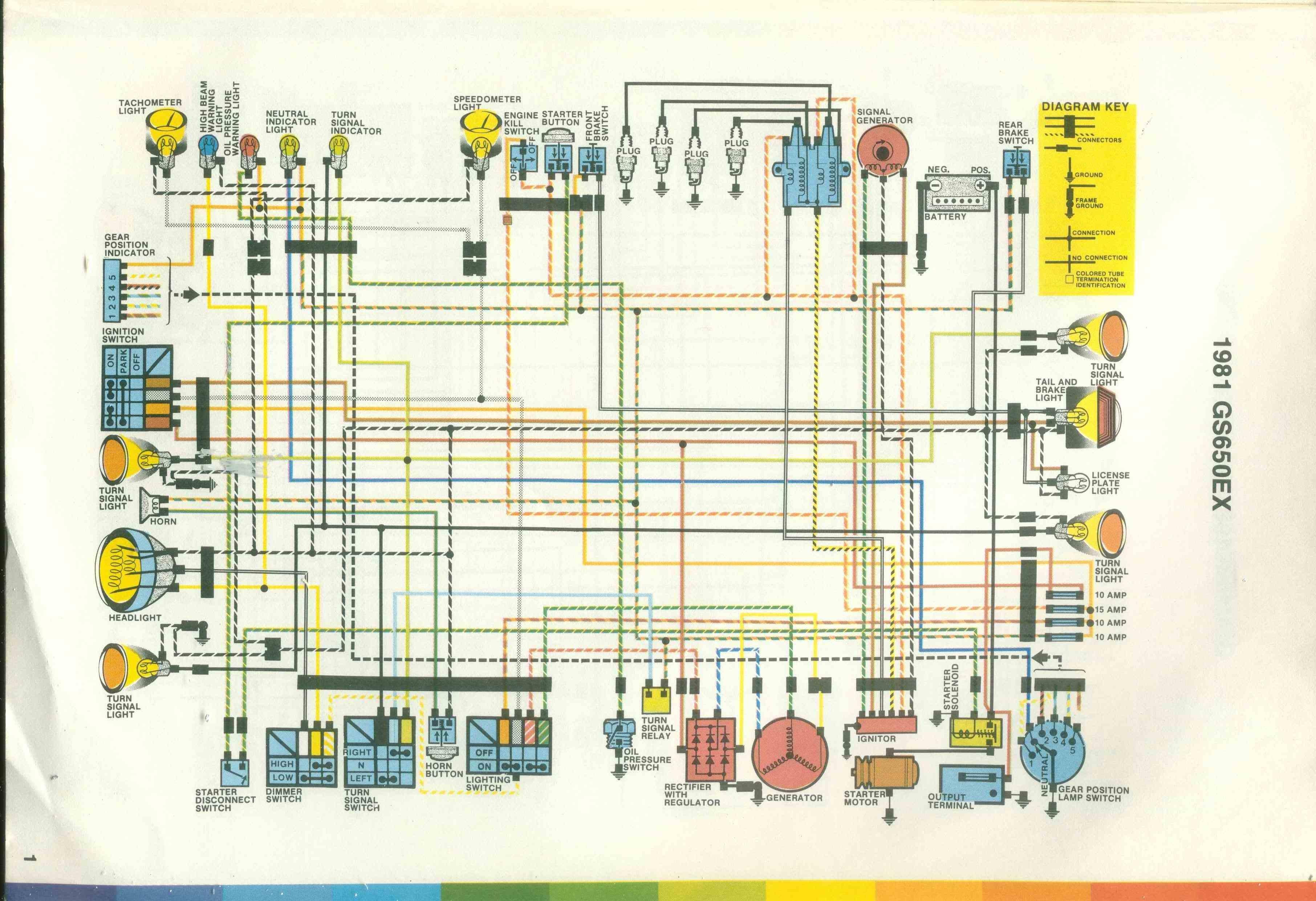 Suzuki Gs850 Wiring Diagram