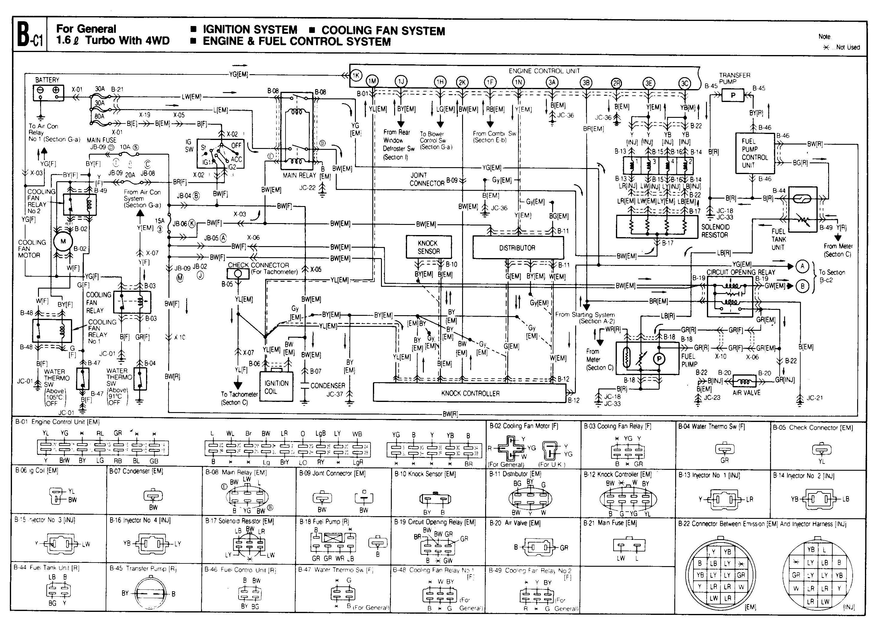 1992 mazda b2200 alternator wiring diagram vehicle diagrams engine library