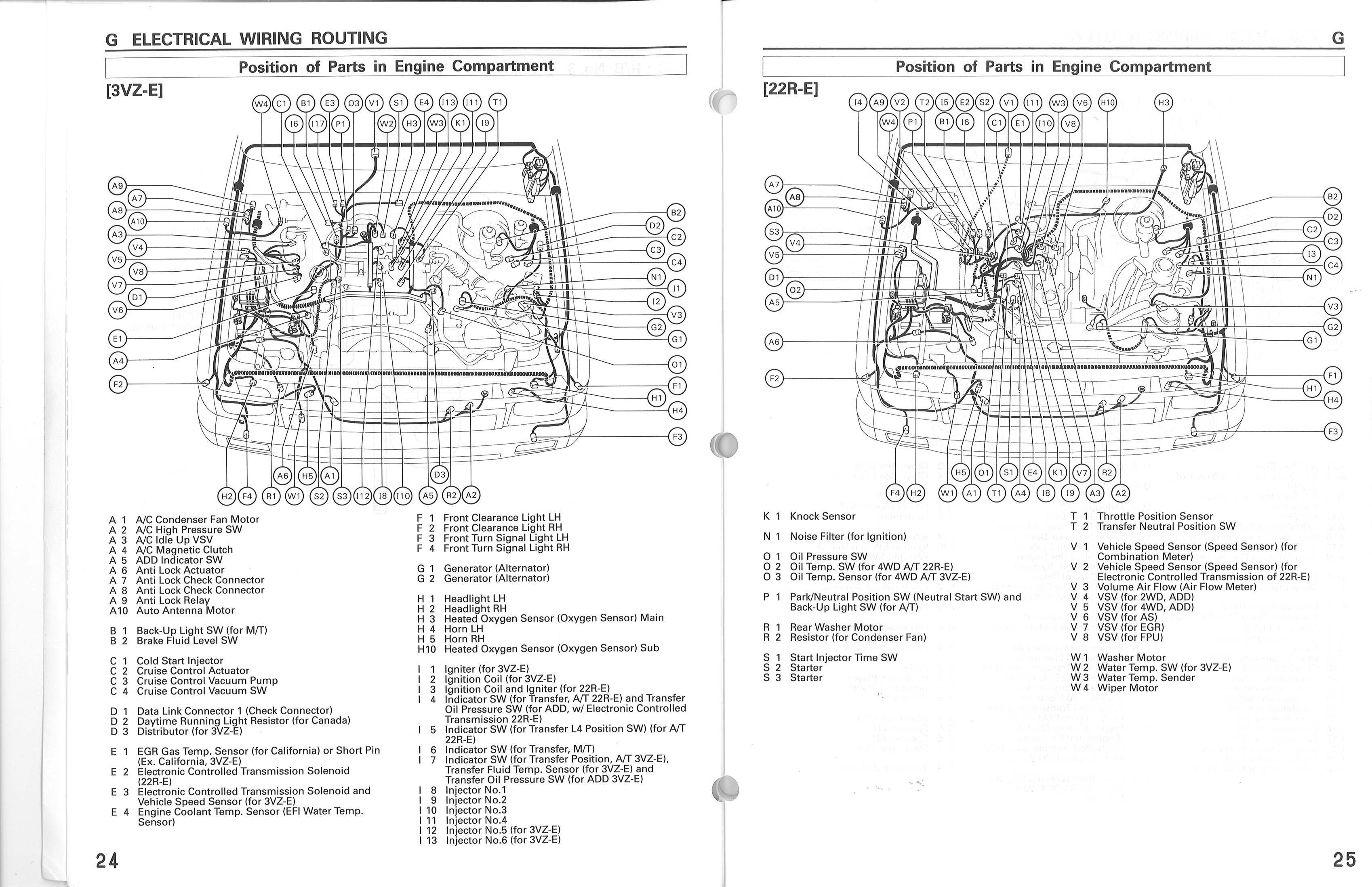 1988 Toyota Pickup Wiring Diagram