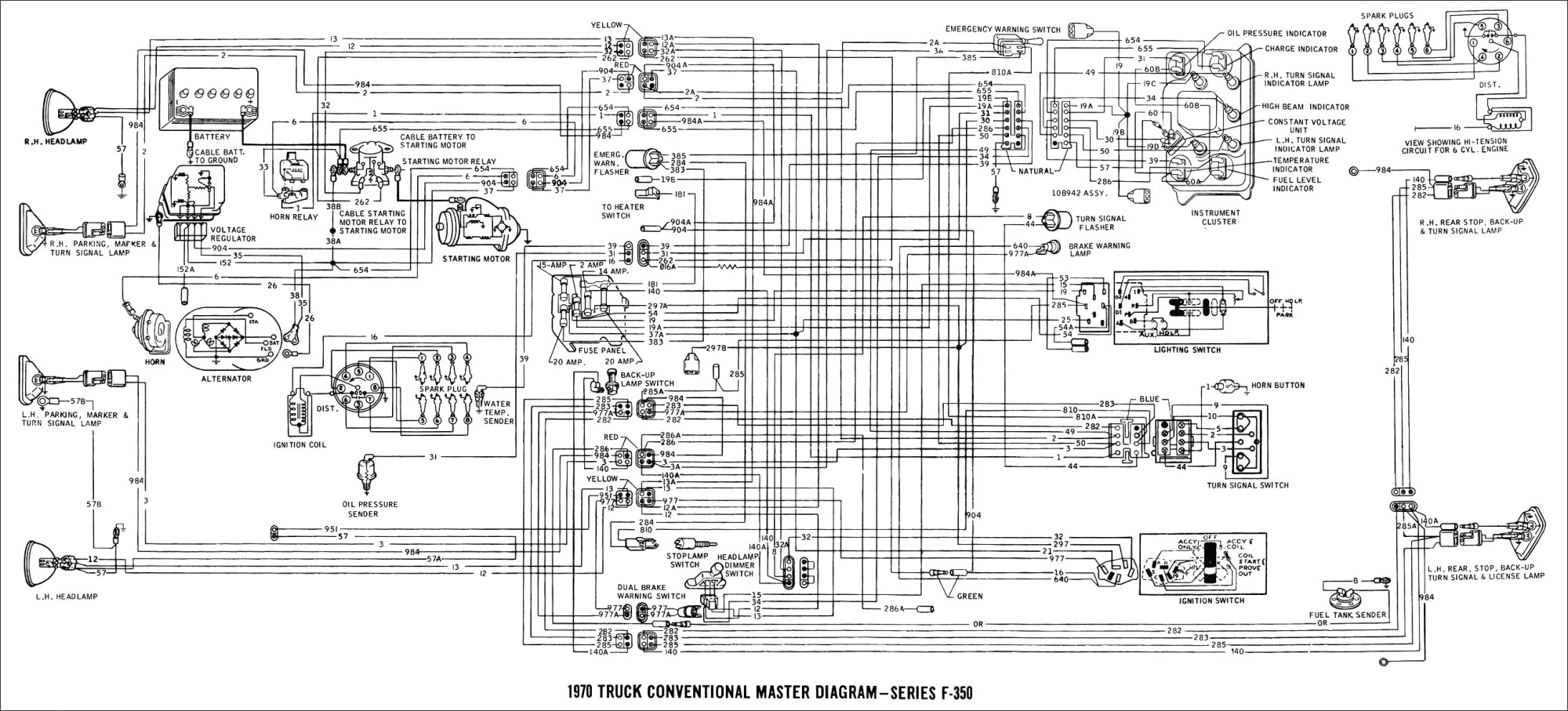 hight resolution of 1996 ford ranger wiring diagram to 2012 03 23 96 4 0 simple f250 trailer 1994