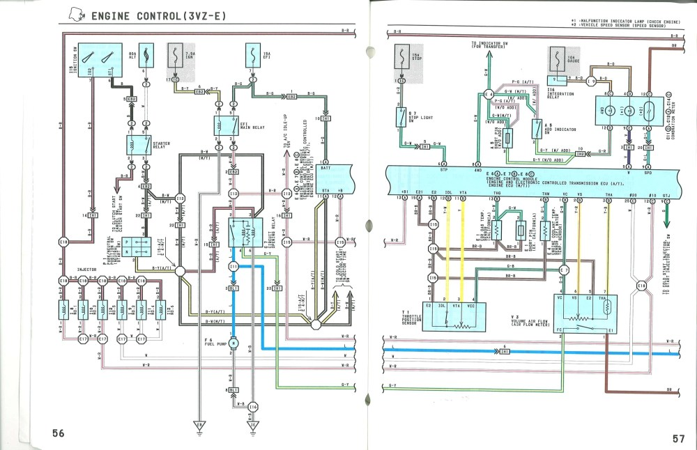 medium resolution of 1989 toyota wiring harness diagram wiring diagram mega 1989 toyota wiring harness diagram