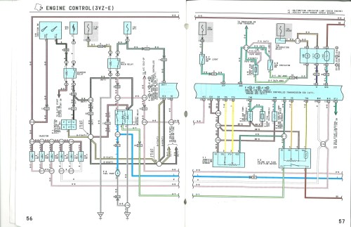 small resolution of 1989 toyota wiring harness diagram wiring diagram mega 1989 toyota wiring harness diagram