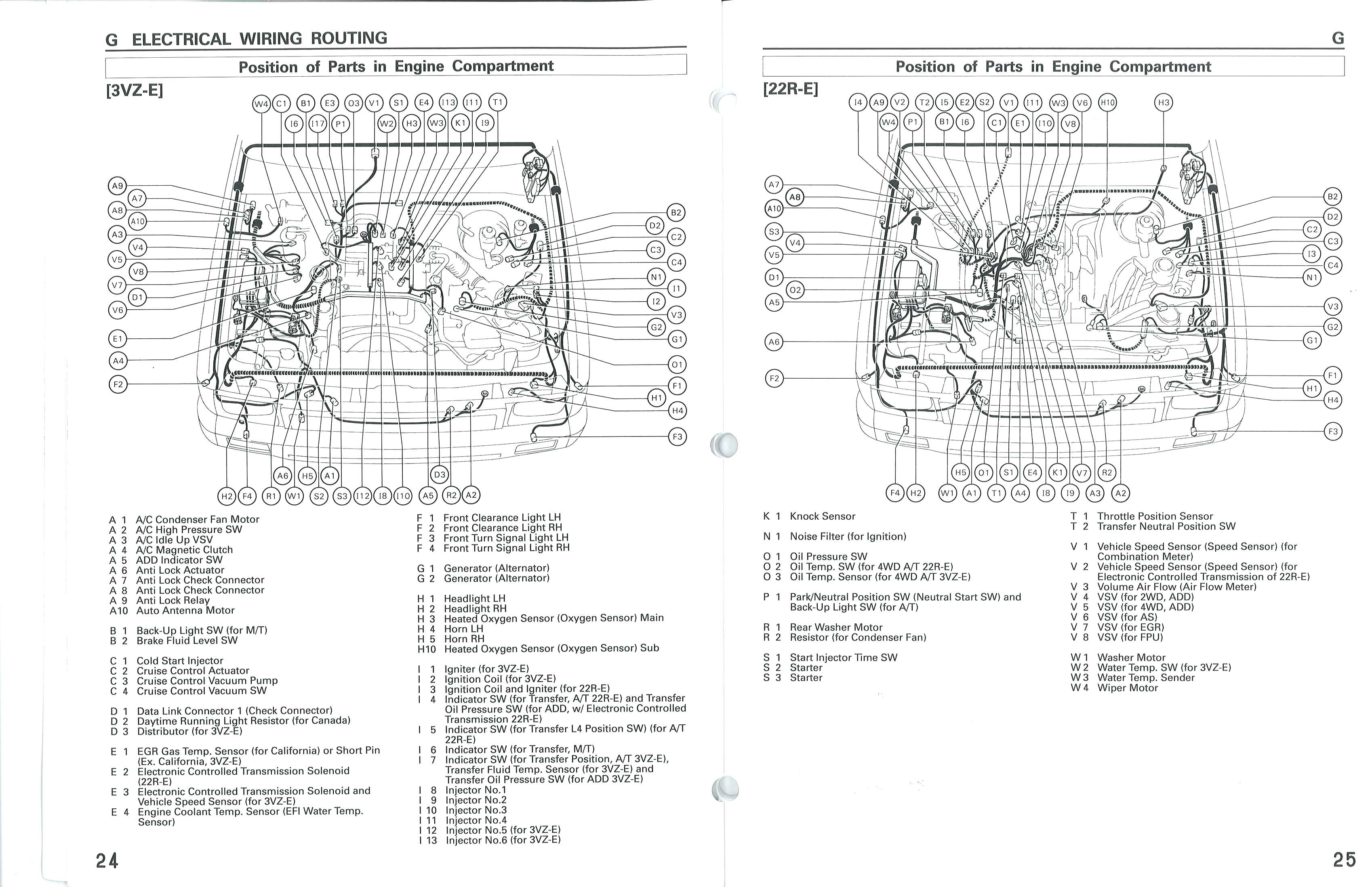 1993 Toyota Truck Parts Diagram • Wiring Diagram For Free