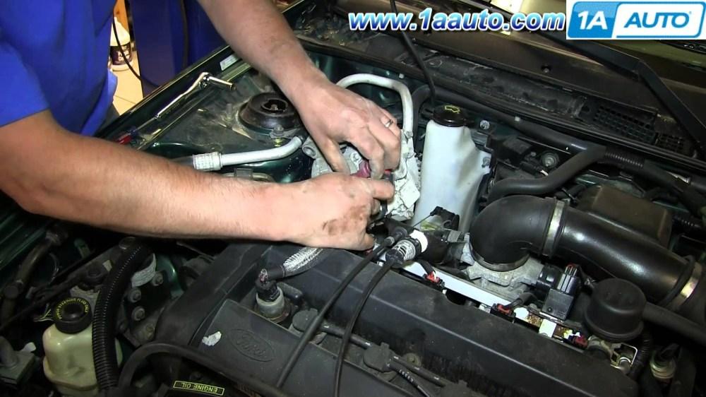 medium resolution of 1997 mercury tracer engine diagram how to install replace engine alternator 1998 2003 ford escort zx2