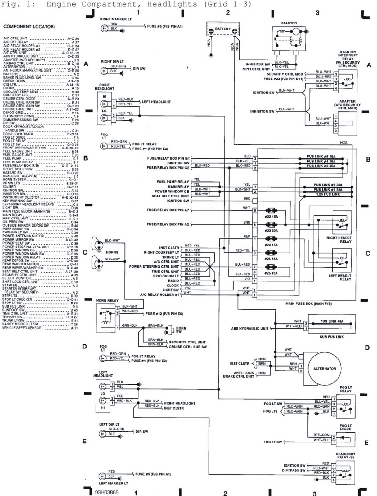 1997 Subaru Legacy Engine Diagram Wiring Diagram 2005