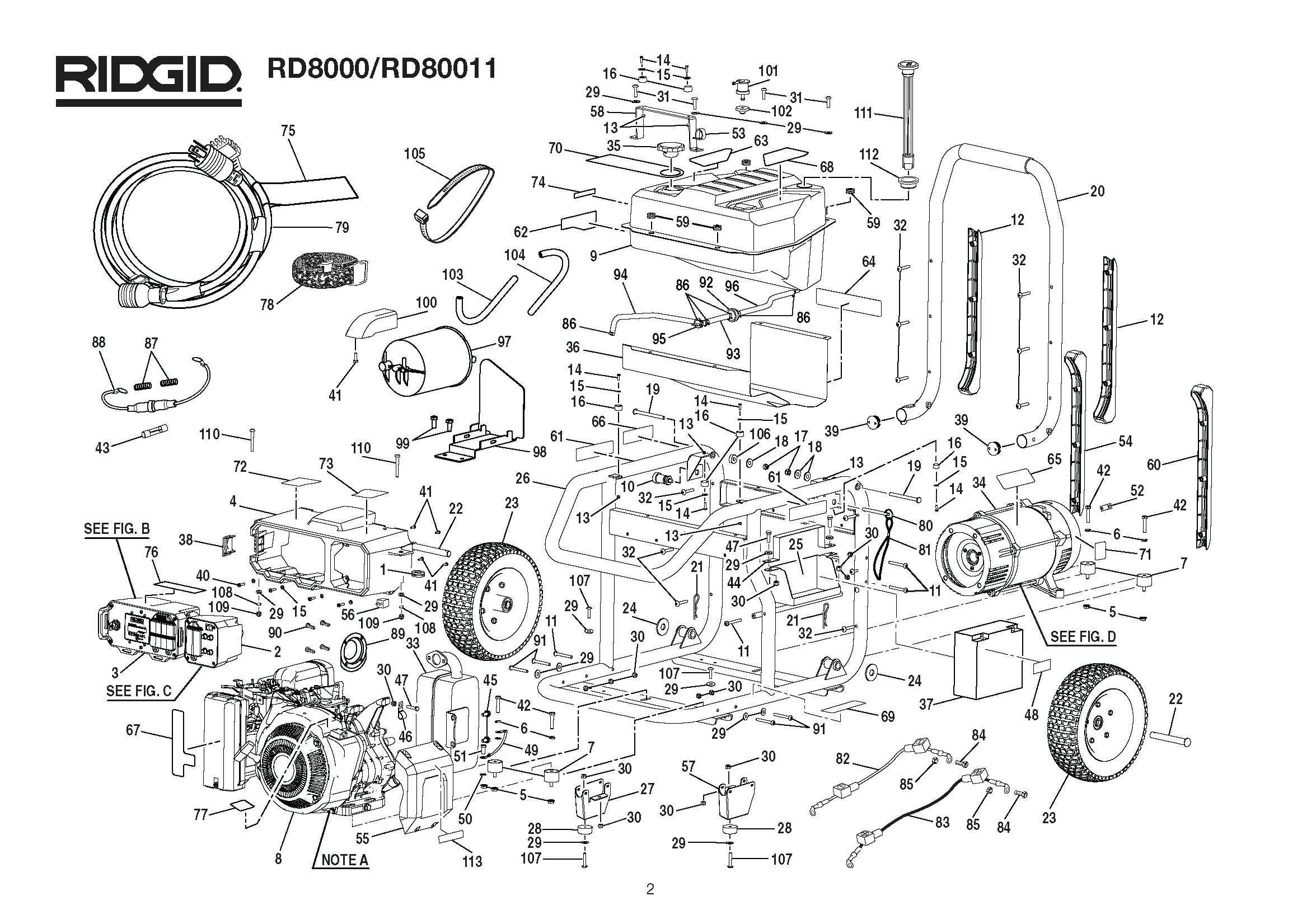 Quadzilla Engine Parts Diagram