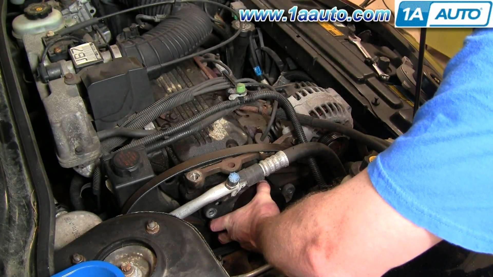 hight resolution of 1998 chevy cavalier engine diagram how to install replace serpentine belt tensioner chevy cavalier of 1998